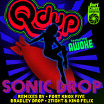 QDUP feat AWOKE - Sonic Drop Remixes (Front Cover)
