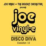 JOE VINYLE/THE RELIGHT ORCHESTRA - Disco Diva Evolution 1.0 (Front Cover)
