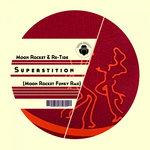 MOON ROCKET & RE-TIDE - Superstition (Front Cover)