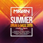 VARIOUS - Mayan Audio Summer Drum & Bass 2018 (Front Cover)