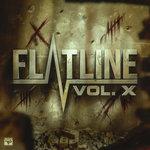 JPHELPZ/DJ BL3ND/RETTCHIT/NATO FEELZ/CHIME/JARVIS/REKOIL - Flatline Vol X (Explicit) (Front Cover)