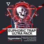 SINGOMAKERS - Euphoric Trap Ultra Pack (Sample Pack WAV/APPLE/LIVE/REASON) (Front Cover)