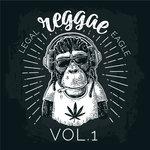 VARIOUS - Legal Reggae Eagle Vol 1 (Front Cover)