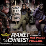 THE DARROW CHEM SYNDICATE - Planet Of The Chimps! (Front Cover)