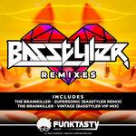 THE BRAINKILLER - Basstyler Remixes (Front Cover)