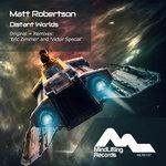 MATT ROBERTSON - Distant Worlds (Front Cover)
