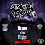 ATOMIX & THE VOKALIST - Army Of The Night (Remixes) (Front Cover)