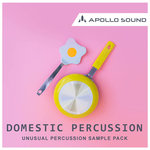 Domestic Percussion (Sample Pack WAV/APPLE)
