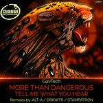 More Than Dangerous/Tell Me What You Hear