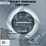 Crazy Friends History-7 Anniversary Strabaganzza Records