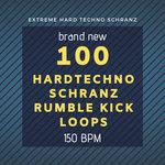 100 Hard Techno Schranz Rumble Kick Loops 150 Bpm (Sample Pack WAV)