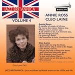 Jazz Britannica Vol 4: Annie Ross/Cleo Laine