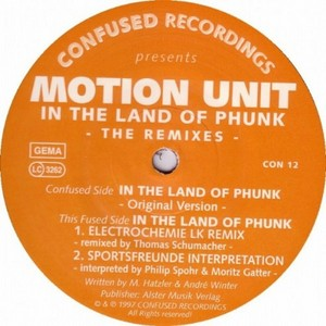 MOTION UNIT - In The Land Of Phunk