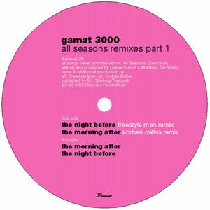 GAMAT 3000 - All Seasons Remixes (Part 1)