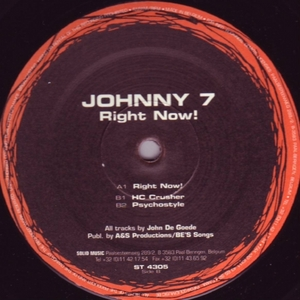 JOHNNY 7 - Right Now!