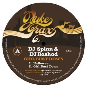 DJ SPINN & DJ RASHAD - Girl Bust Down EP