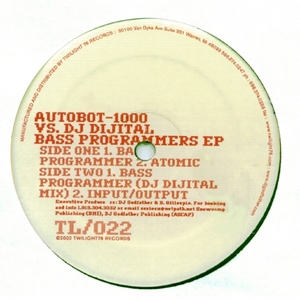 AUTOBOT 1000 vs DJ DIJITAL - Bass Programmers EP