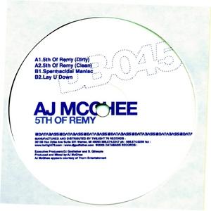 AJ MCGHEE - 5th Of Remy