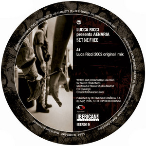 RICCI, Luca presents AENARIA - Set Me Free