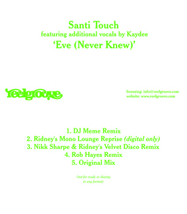 SANTI TOUCH - Eve (Never Knew)