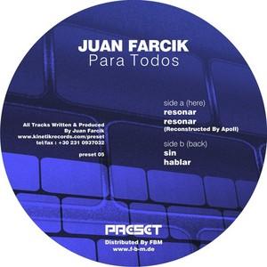 FARCIK, Juan - Para Todos