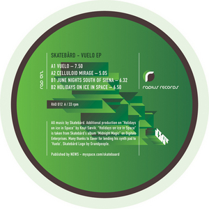 SKATEBARD - Vuelo EP