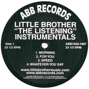 LITTLE BROTHER - The Listening Instrumentals