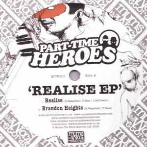 PART TIME HEROES - Realise EP