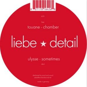 ULYSSE/TOUANE - Sometimes / Chamber
