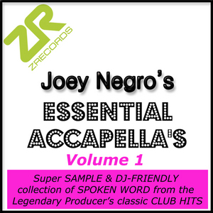 VARIOUS - Joey Negro's Essential Accapellas Vol 01
