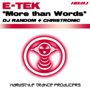 E TEK LIVE (THE SNAPPERHEADS) - More Than Words