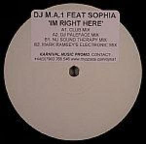 DJ MA 1 - Im Right Here