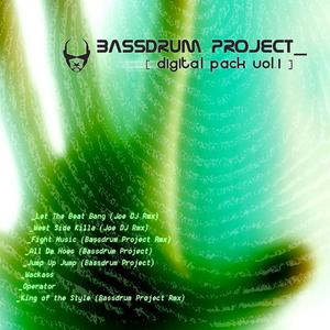 BASSDRUM PROJECT/KICK DJ - Digital Pack Vol 1