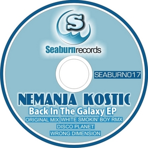 KOSTIC, Nemanja - Back In The Galaxy EP