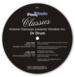 CLAMARAN, Antoine presents VIBRATION INC - Dr Drum