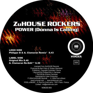 ZUHOUSE ROCKERS - Power (Donna Is Calling)