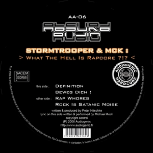 STORMTROOPER/MCK - What The Hell Is Rapcore