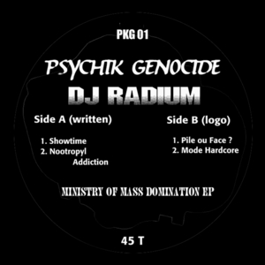 RADIUM - Ministry Of Mass Domination
