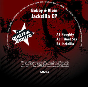 BOBBY & KLEIN - Jackzilla EP