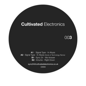 SIGNAL TYPE/SYNC 24/INNUME - Cultivated Electronics EP 3