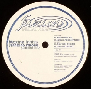 INNISS, Maxine - Standing Strong (Without U)