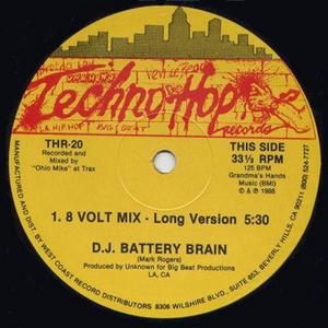 DJ BATTERY BRAIN - 8 Volt Mix