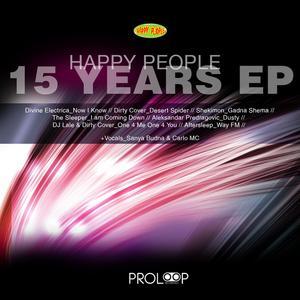 VARIOUS - Happy People (15 Years EP)