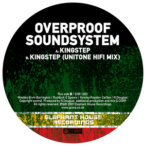 OVERPROOF SOUNDSYSTEM - Kingstep