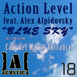 ACTION LEVEL feat ALEX ALPIDOVSKY - Blue Sky