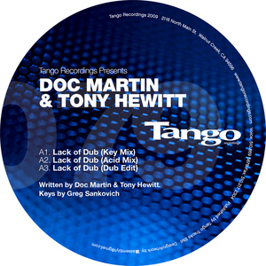 DOC MARTIN/TONY HEWITT - Lack Of Dub