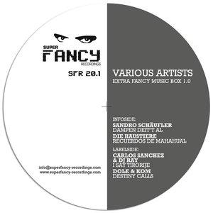 SANCHEZ, Carlos/DJ RAY/DOLE & KOM/SANDRO SCHAUFLER/DIE HAUSTIERE - Extra Fancy Music Box 1.0
