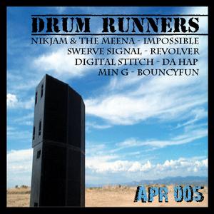DIGITAL STITCH/NIKJAM & THE MEENA/MIN G/SWERVE SIGNAL - Drum Runners EP