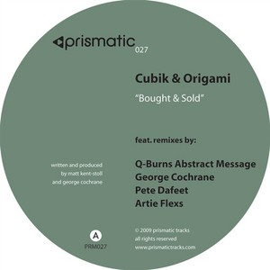 CUBIK & ORIGAMI - Bought & Sold