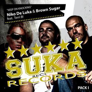 DE LUKA, Niko/BROWN SUGAR feat TERRI B - Keep On Knocking